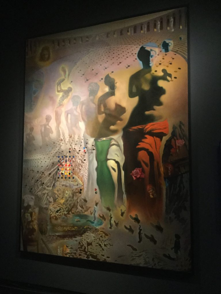 "Salvador Dali's ""The Hallucinogenic Toreador"" painting. The link directly below this image and its caption gives a detailed description of the painting and its history."