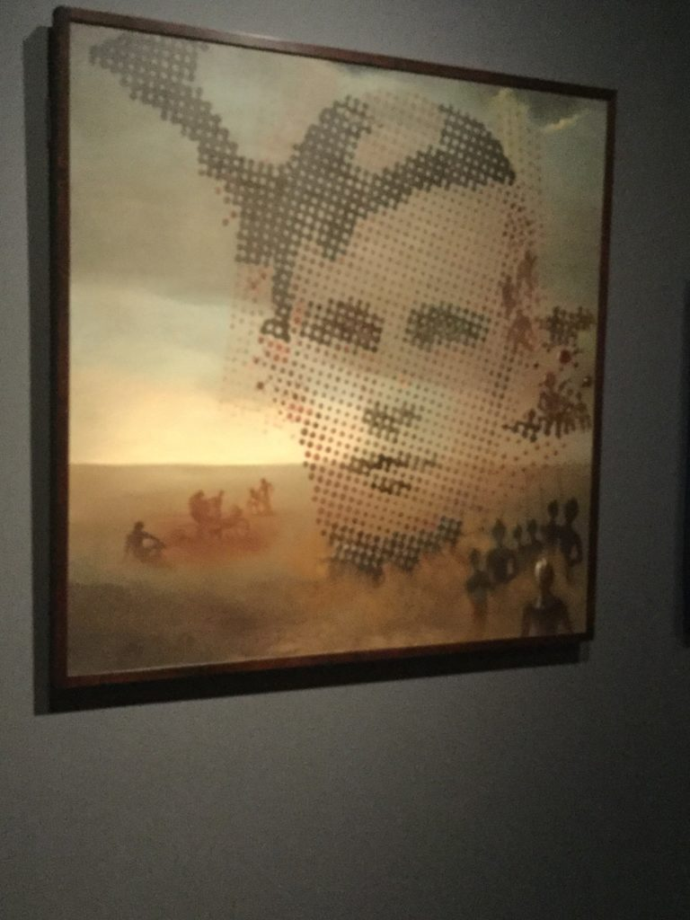 "Salvador Dali's ""Portrait of My Dead Brother"" painting. The link directly below this image and its caption goes to the Dali Museum's page on the painting, and gives a detailed description of the painting and its history."